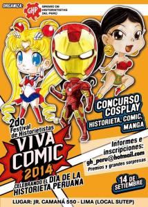 cosplay comic